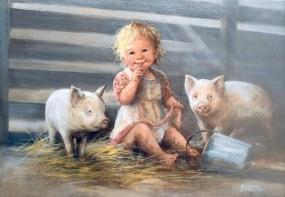 türü ne olursa olsun hayvanlarda çocuklar için birer arkadaştır