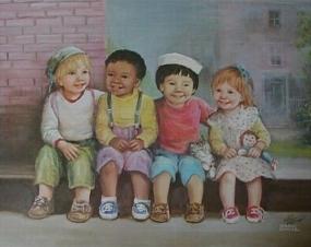 bütün çocuklar diğer çocuklar için bir arkadaştır