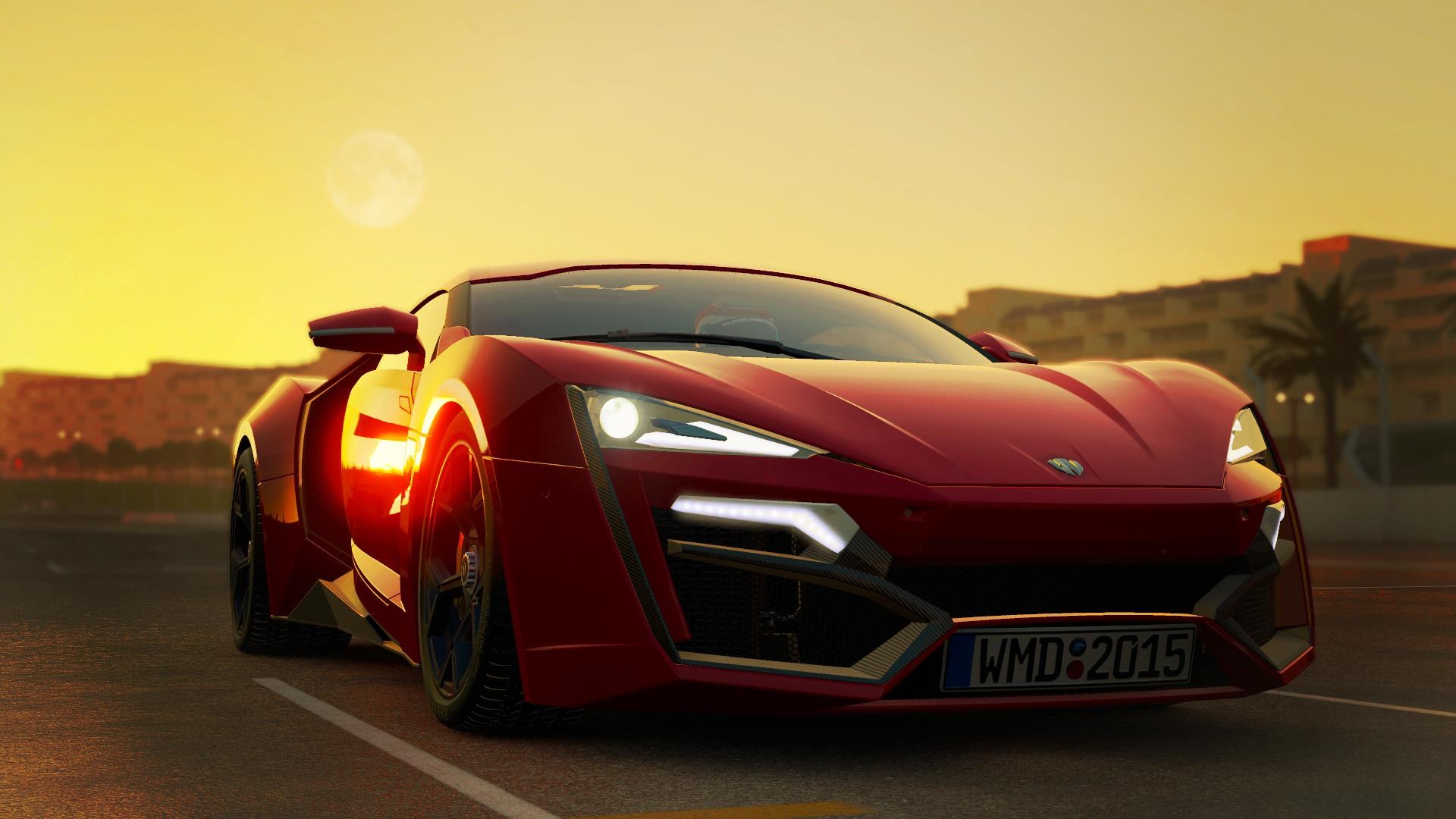 2015 Lykan Hypersport Red front