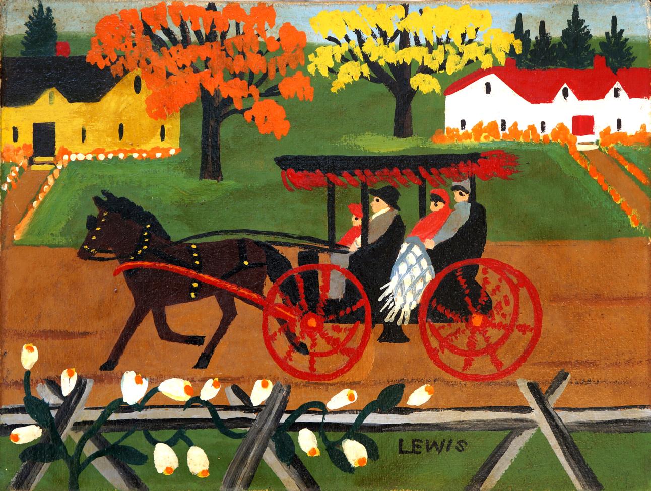 Maud Lewis Resimleri 5