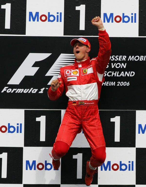 Michael Schumacher - 58