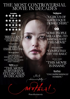 mother! (2017) Movie Poster CR: Paramount Pictures
