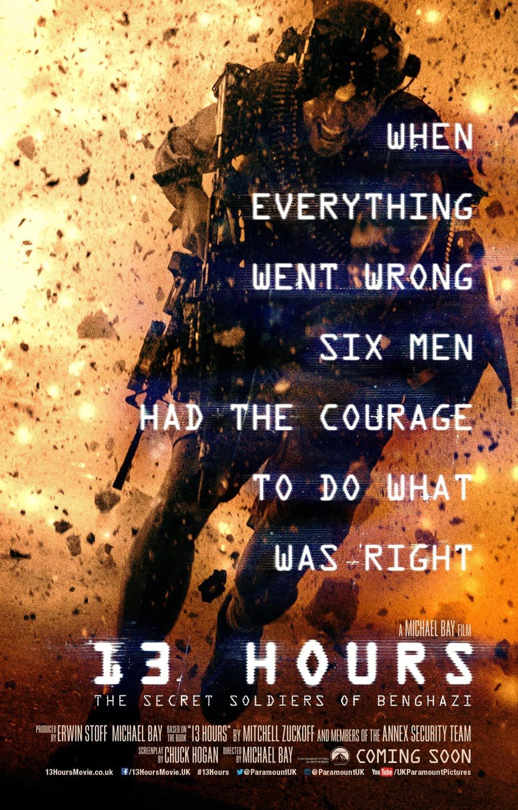13 Hours Secret Soldiers Benghazi