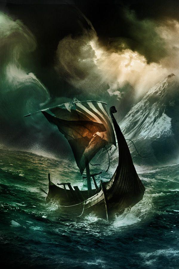 Fırtınalı Denizin Ortasında