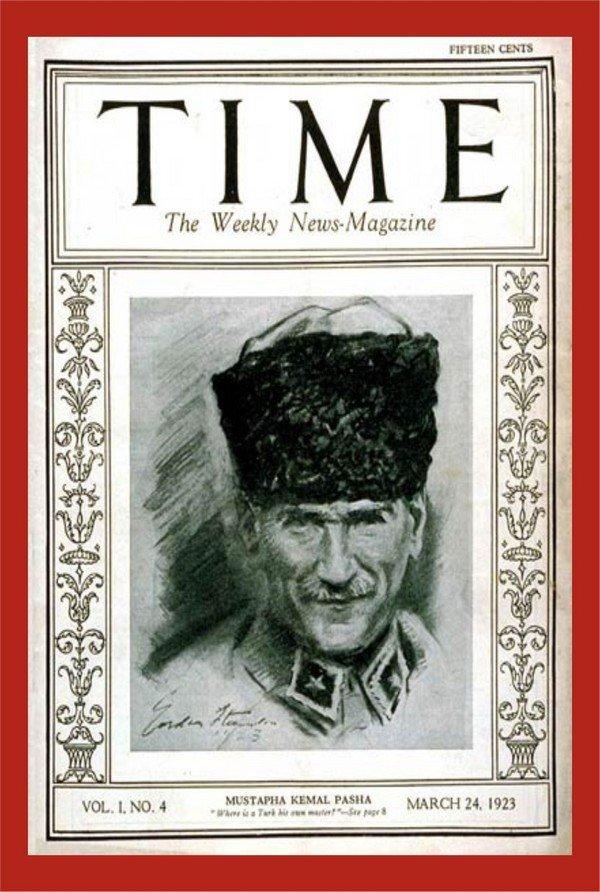 time dergisi atatürk kapağı