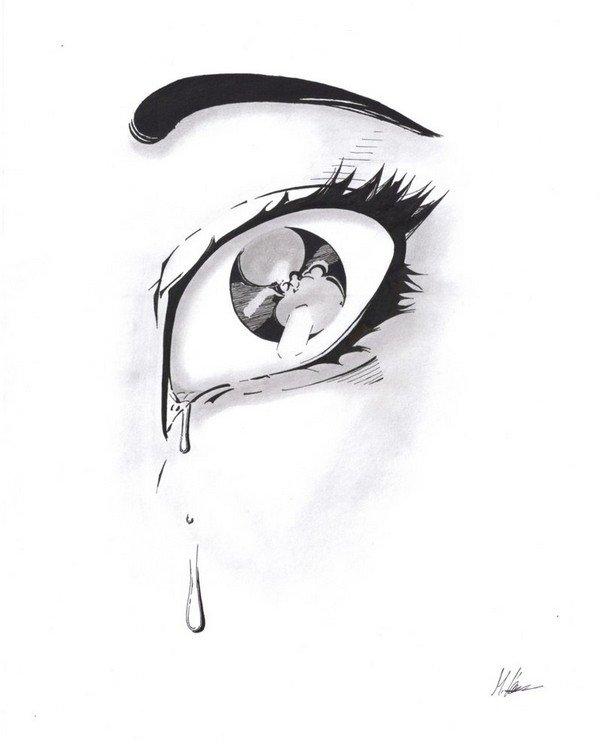 ağlayan göz