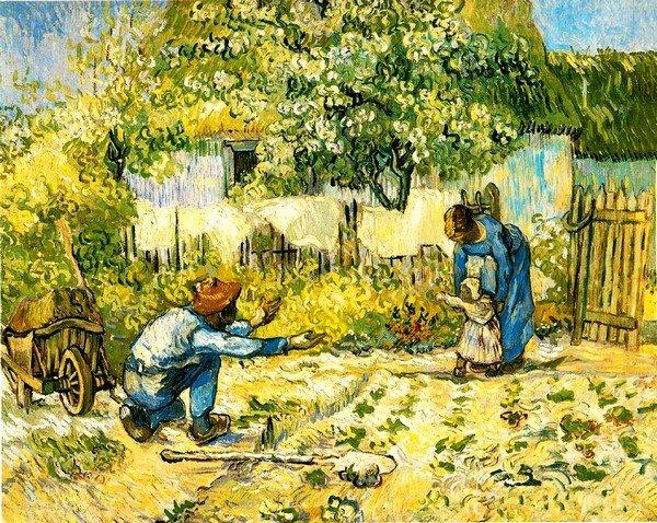 Vincent Van Gogh, İlk Adım