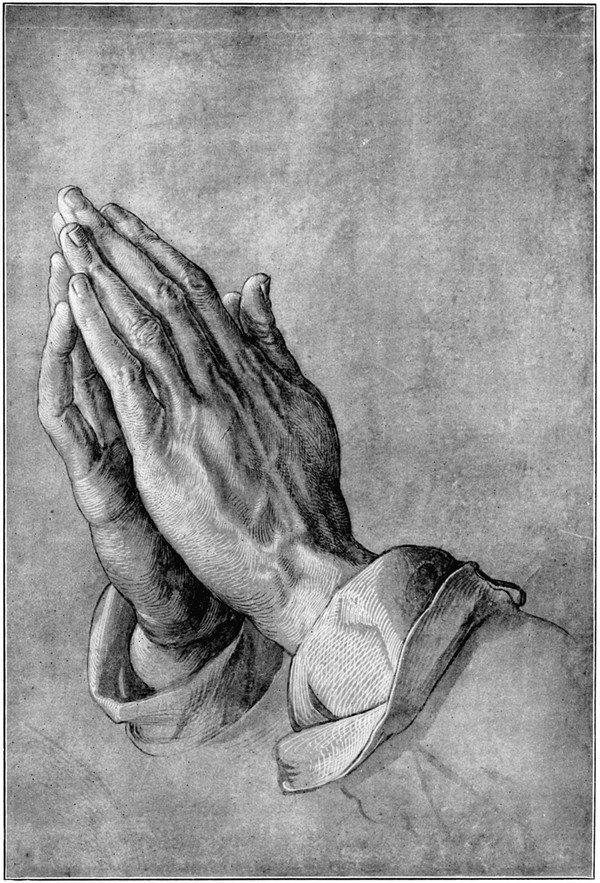 dua eden eller, hands