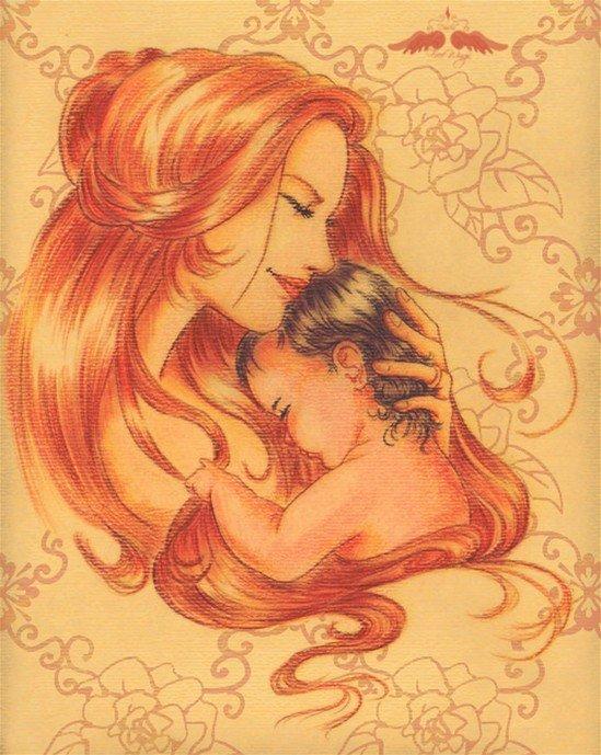 anne ve bebek