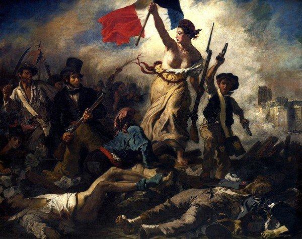 fransız devrimi, Eugene Delacroix