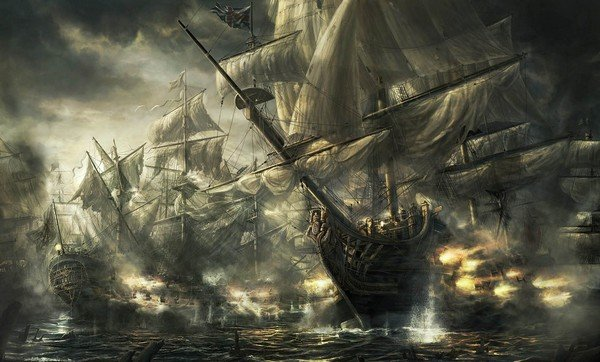 gemileri yakmak