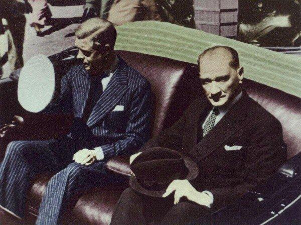 Atatürk Kral Edward