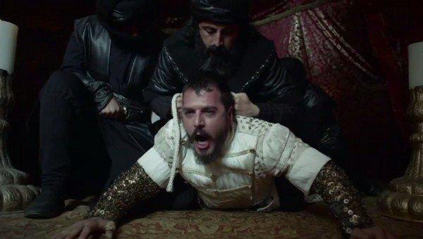 Şehzade Mustafa öldürülme sahnesi