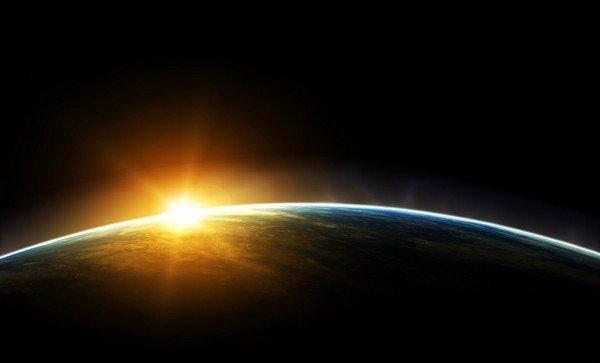güneş doğarken
