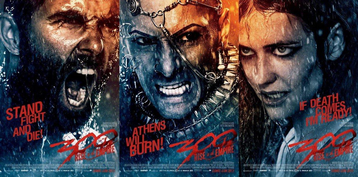 """çektikleri filmleri izliyorum da; ( en son işte """"300: Bir İmparatorluğun Yükselişi"""