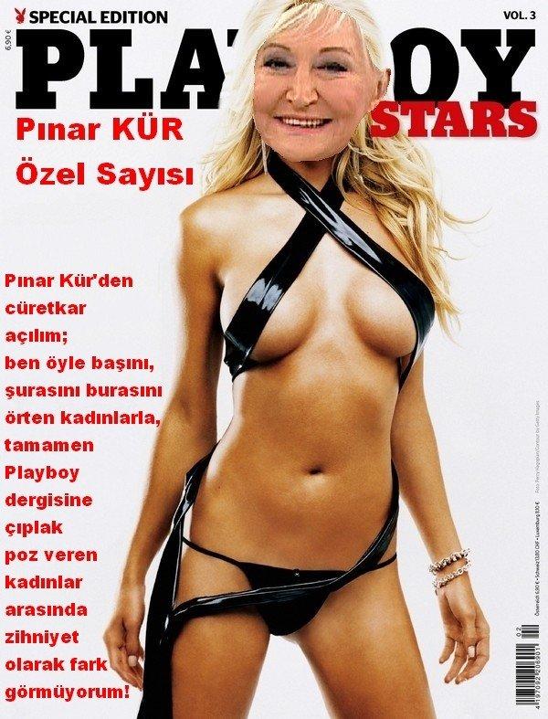 Pınar KÜR, Playboy