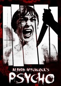 alfred hitchcock psycho poster 1960