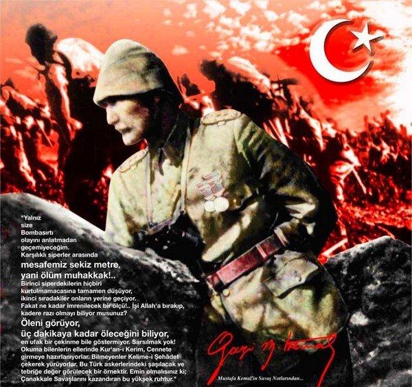 Atatürk Çanakkalede'