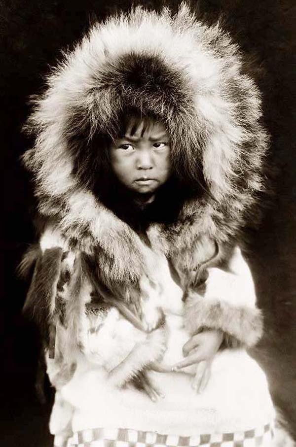 eskimo çocuk