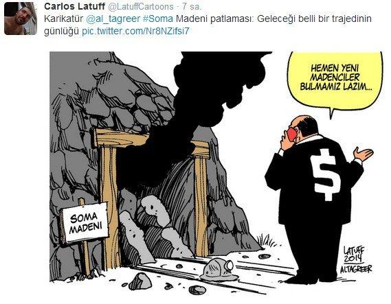 Soma Madeni Karikatürü