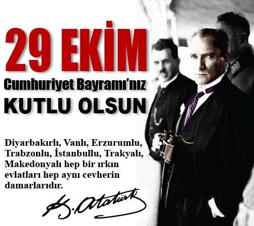 29 ekim, cumhuriyet bayramı