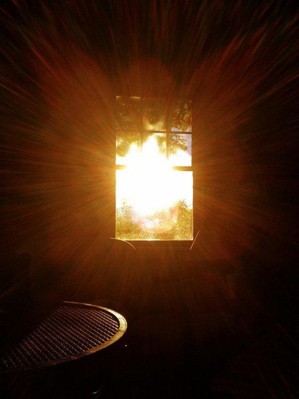 akşam güneşi