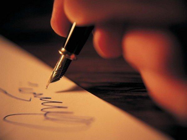 kalem, kalem tutan el