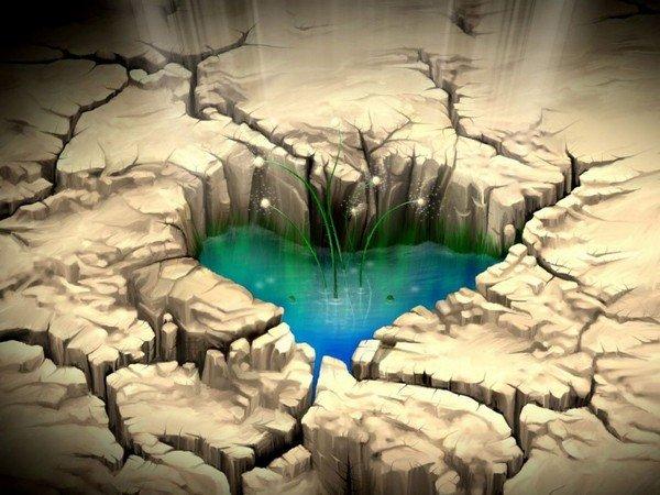 çöldeki kalp