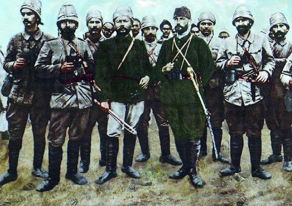 Atatürk, askerlik sanatı