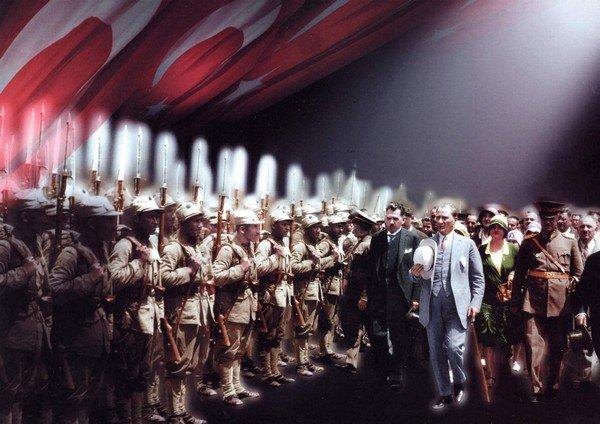 Atatürk, Türk ordusu, Türk askeri