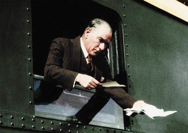 Atatürk, ulaştırma, bayındırlık