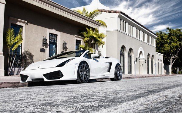 Lamborghini-Gallardo-in-front-of-the-House