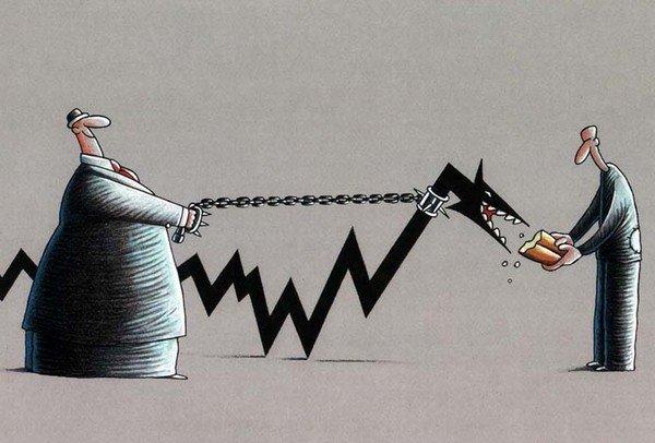enflasyon canavarı resmi