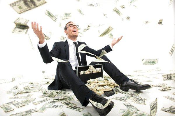 zengin başarılı iş adamı