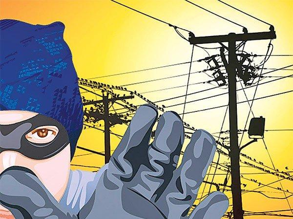 elektrik hırsızı resmi