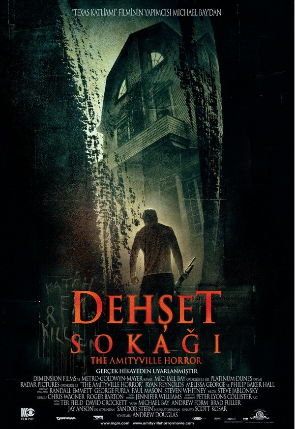dehşet sokağı poster