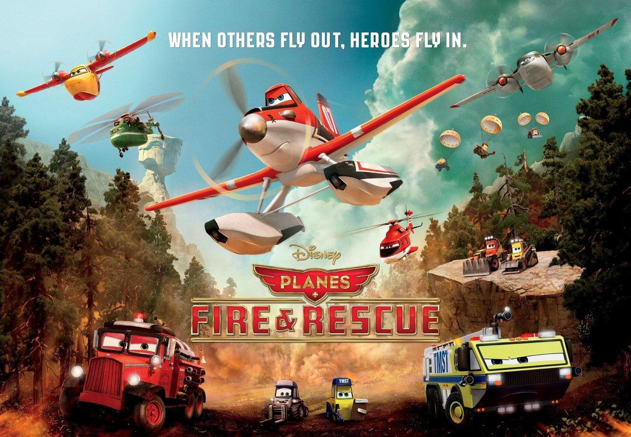 uçaklar 2, söndür ve kurtar