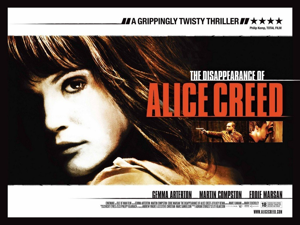 Alice Creed Kayboldu