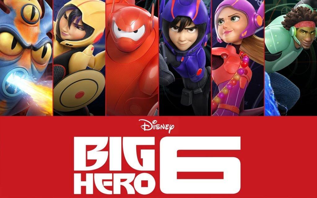6 süper kahraman poster
