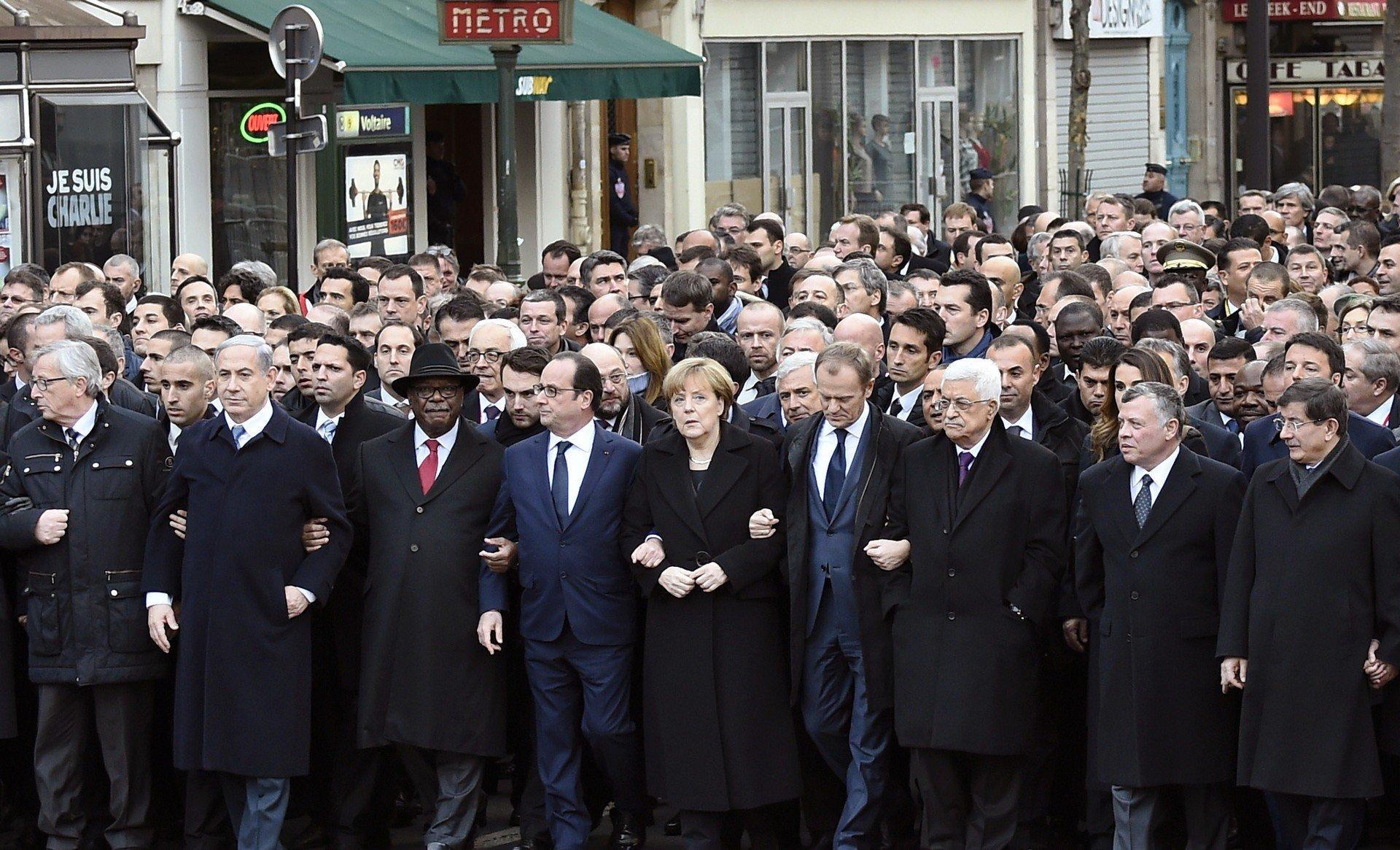 dünya liderleri fransada