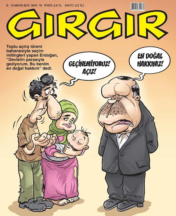 gırgır dergisi en doğal hakkınız kapağı