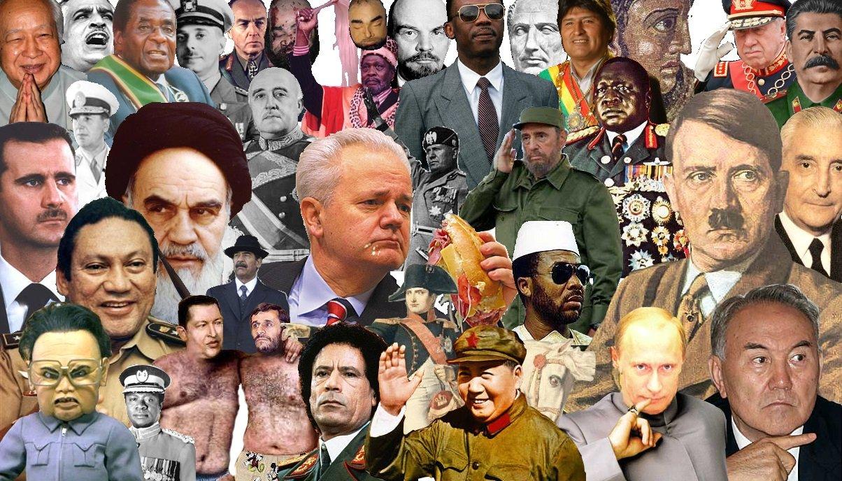 diktatörler listesi