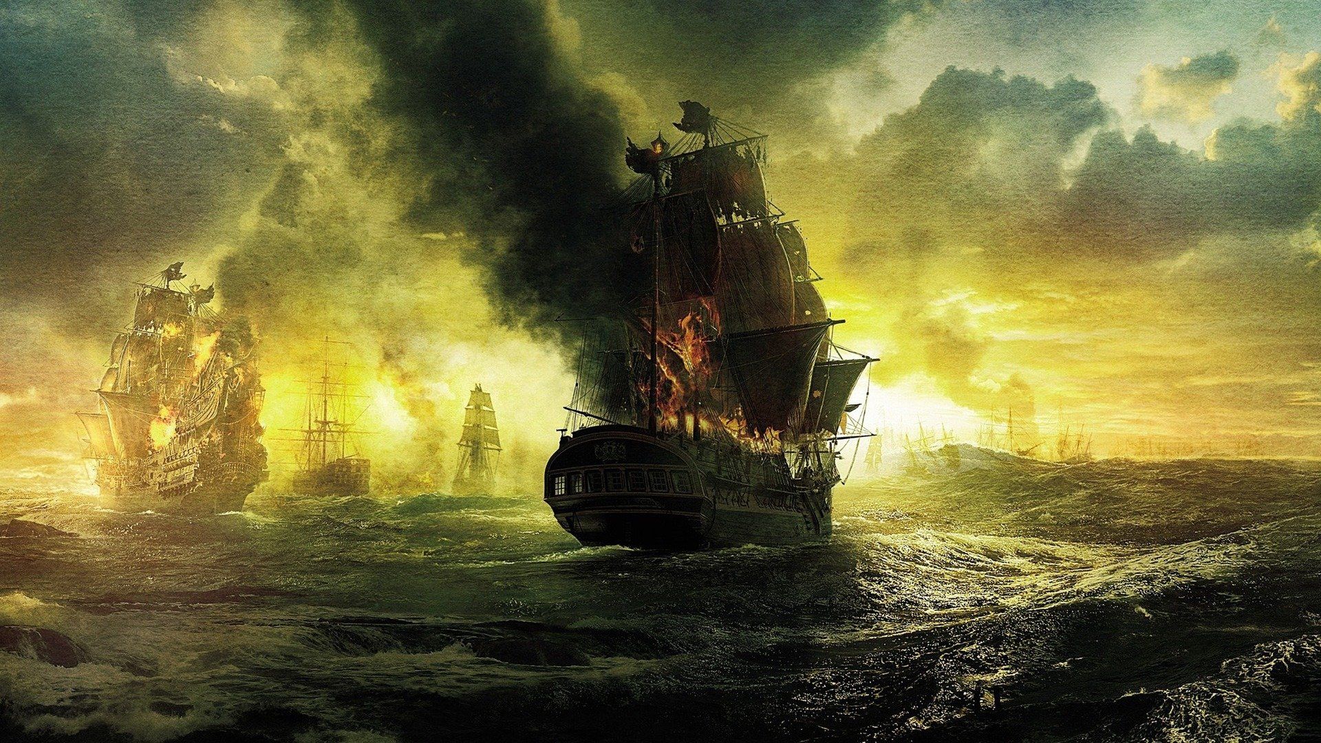 yanan gemi resmi