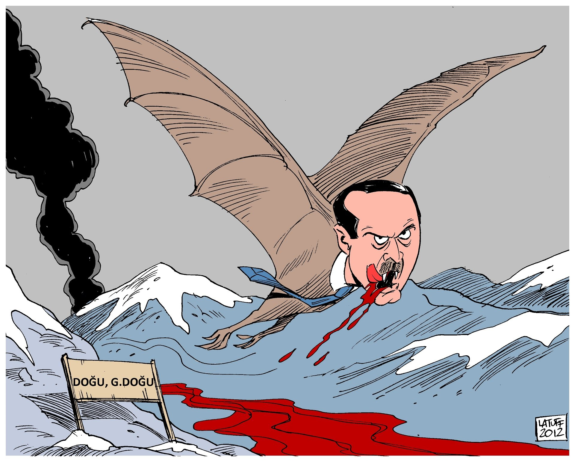 recep tayyip erdoğan karikatür