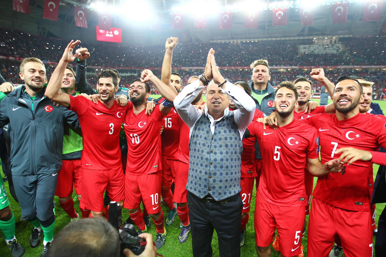 Türk A Milli Takım Fransa 2016'da